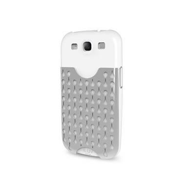 Чехол iLuv для GalaxyS III Frill white из твердого пластика с отделением для визиток (iSS247WHT) - фото 1