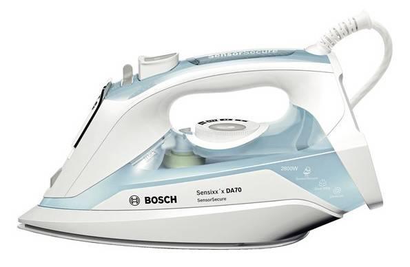 Утюг Bosch TDA7028210 светло-голубой/белый - фото 1