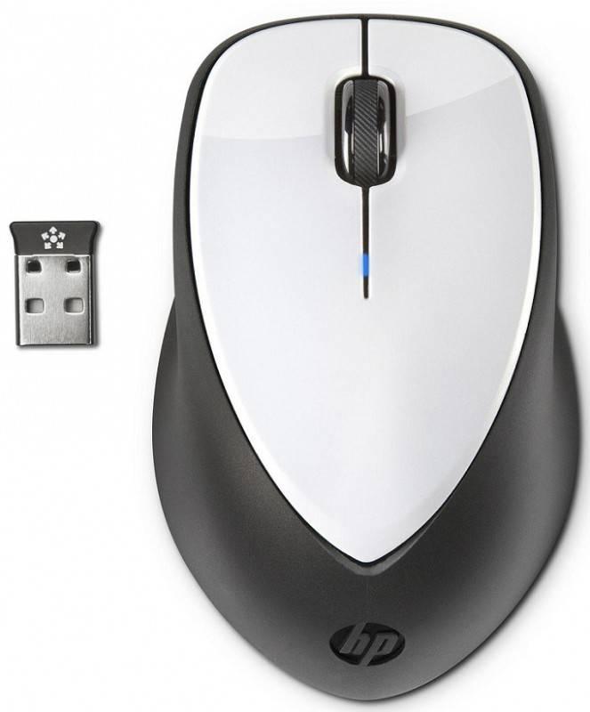 Мышь HP X4000 белый/черный - фото 2