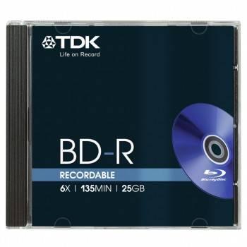 ���� BD-R TDK 25Gb 6x (5��) (t78057)