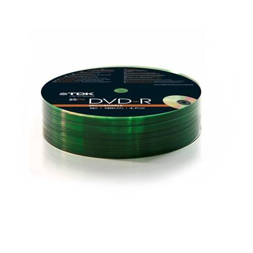 Диск DVD-R TDK 4.7Gb 16x (25шт) (T78651) - фото 1