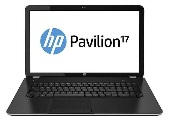 """Ноутбук 17.3"""" HP Pavilion 17-e013sr темно-серый - фото 1"""