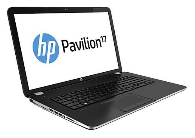 """Ноутбук 17.3"""" HP Pavilion 17-e013sr темно-серый - фото 2"""