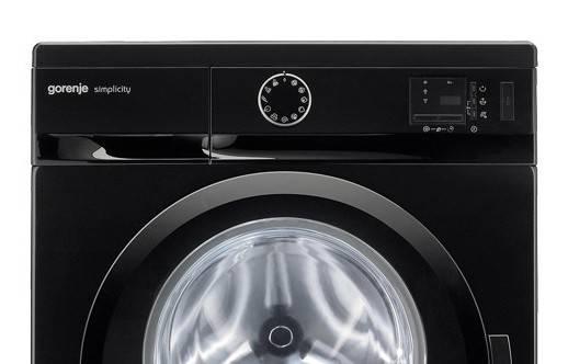 Стиральная машина Gorenje Simplicity WS60SY2B черный - фото 2