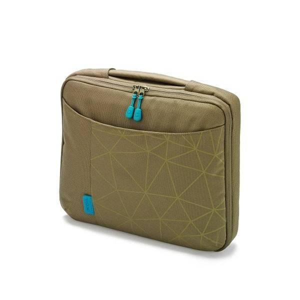 "Сумка для ноутбука 14.1"" Dicota Bounce Slim зеленый/синий - фото 1"