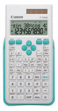 Калькулятор Canon F-715SG-WHB белый 10+2-разр.