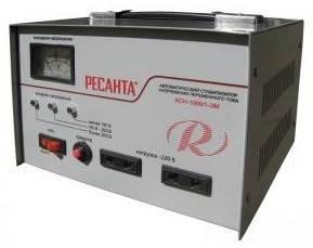 Стабилизатор напряжения Ресанта АСН-1000 / 1-ЭМ серый