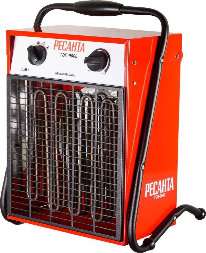 Тепловая пушка Ресанта ТЭП-9000 красный - фото 1