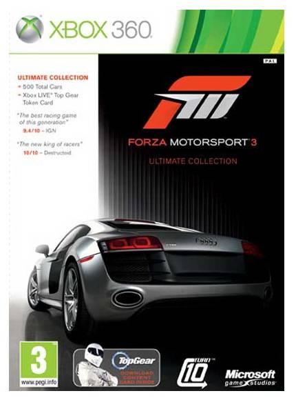 Игра для Xbox 360 Forza 3 Ultimate (6RF-00014) (Рус. суб.) - фото 1