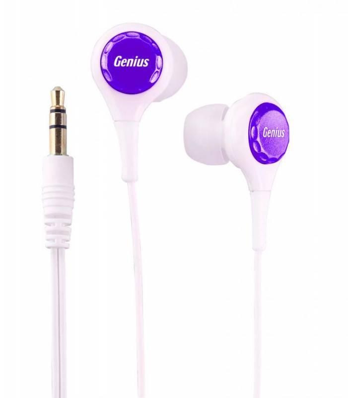 Наушники Genius GHP-240X белый/фиолетовый - фото 1