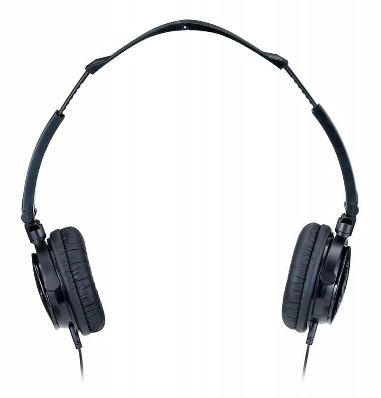 Наушники с микрофоном Genius HS-410F черный/желтый (31710050102) - фото 3