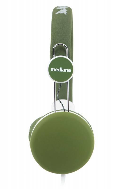 Наушники Mediana HP-811 зеленый - фото 3