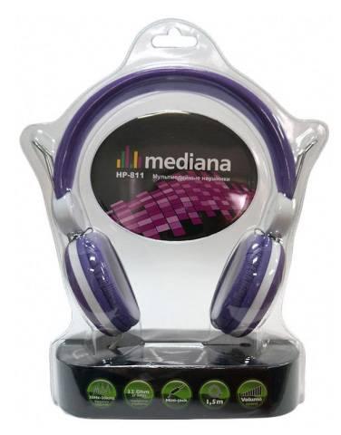 Наушники Mediana HP-811 фиолетовый - фото 1