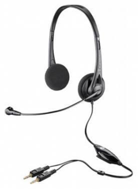 Наушники с микрофоном Plantronics Audio 326 черный