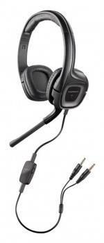 Наушники с микрофоном Plantronics A355 черный / серый