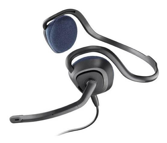 Наушники с микрофоном Plantronics A648 темно-серый (81961-15) - фото 1