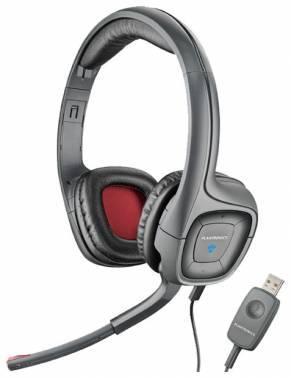 Наушники с микрофоном Plantronics A655 черный / серый