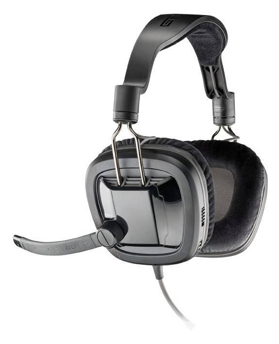 Наушники с микрофоном Plantronics Gamecom GC380 черный - фото 1