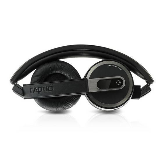 Наушники с микрофоном Rapoo H3080 серый/белый - фото 3