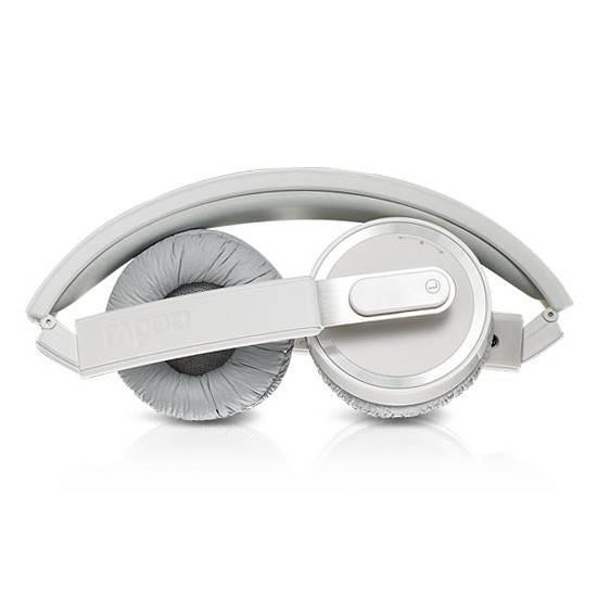 Наушники с микрофоном Rapoo H3080 серый/белый - фото 6