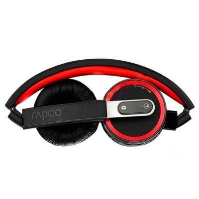 Наушники с микрофоном Rapoo H6080 черный - фото 1