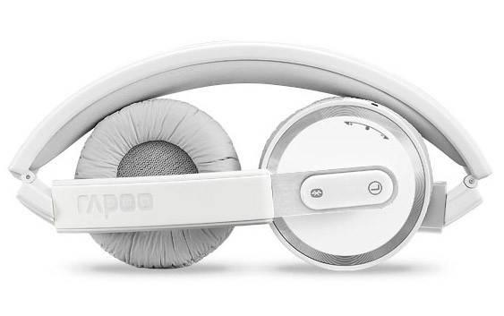 Наушники с микрофоном Rapoo H6080 серый - фото 2