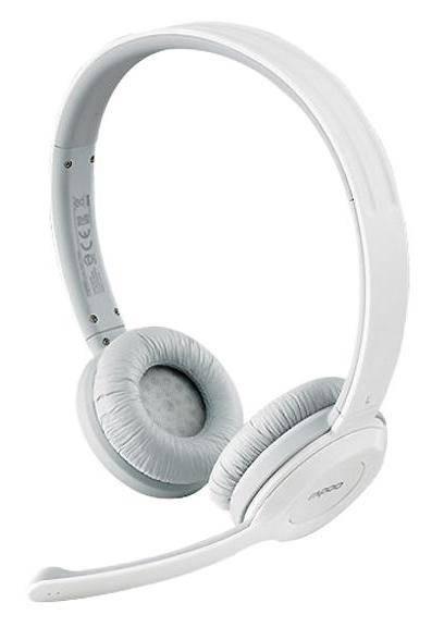 Наушники с микрофоном Rapoo H8030 серый - фото 1