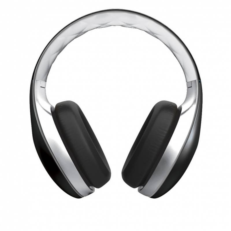 Наушники с микрофоном Soul SL300WB черный/белый - фото 1