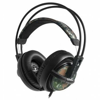 Наушники с микрофоном Steelseries Siberia v2 Counter Strike черный / коричневый