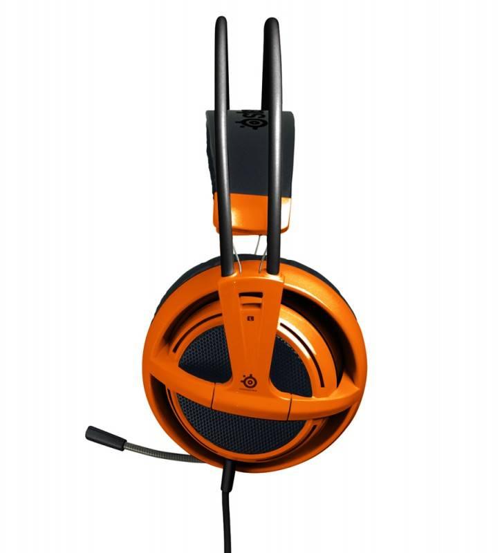 Наушники с микрофоном Steelseries Siberia V2 Full-Size Headset (51106) оранжевый - фото 2