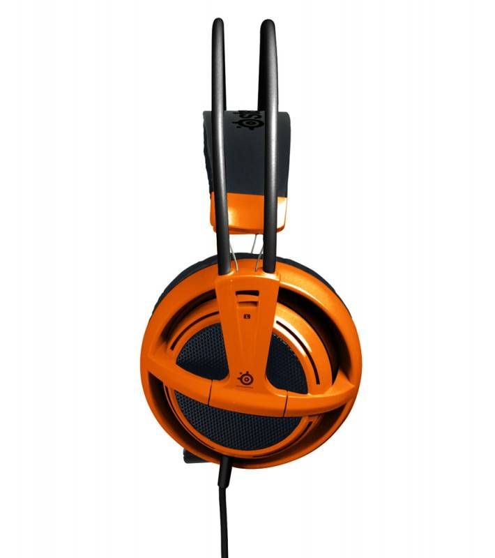 Наушники с микрофоном Steelseries Siberia V2 Full-Size Headset (51106) оранжевый - фото 3
