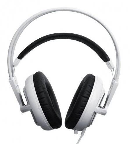 Наушники с микрофоном Steelseries Siberia V2 белый - фото 1