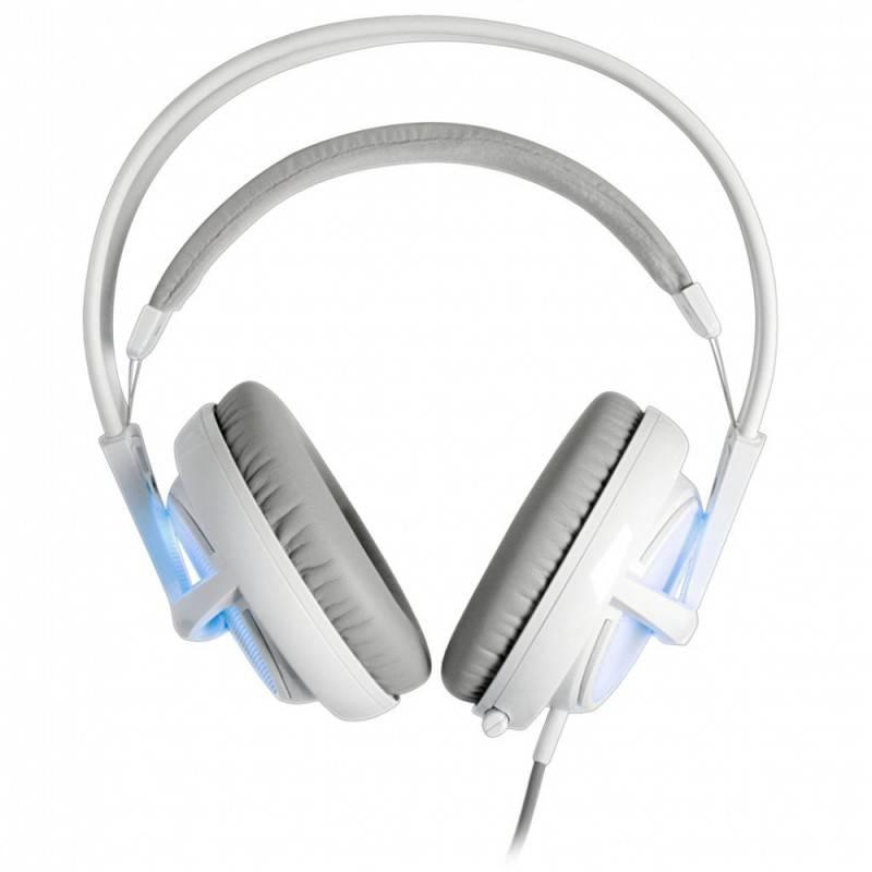Наушники с микрофоном Steelseries Siberia v2 Frost Blue белый/голубой - фото 2