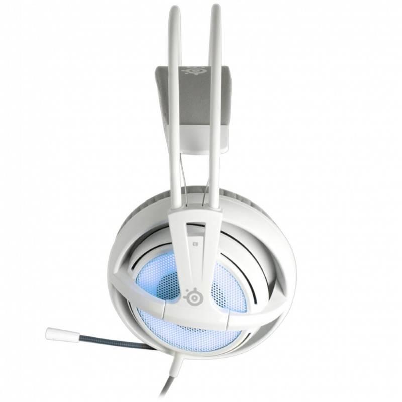 Наушники с микрофоном Steelseries Siberia v2 Frost Blue белый/голубой - фото 5