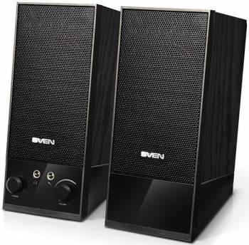 Колонки 2.0 Sven SPS-604 черный