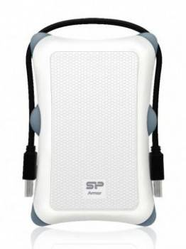 Внешний жесткий диск 1Tb Silicon Power A30 SP010TBPHDA30S3W Armor белый USB 3.0