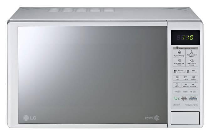 СВЧ-печь LG MB40R42DS серебристый - фото 1