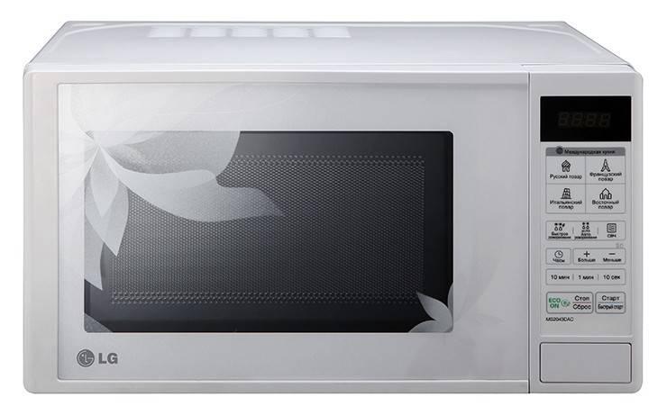 СВЧ-печь LG MS2043DAC белый - фото 2
