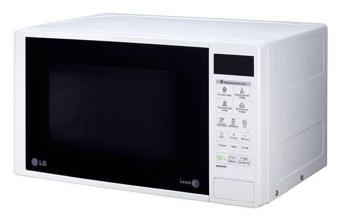 СВЧ-печь LG MS20R42D белый - фото 1