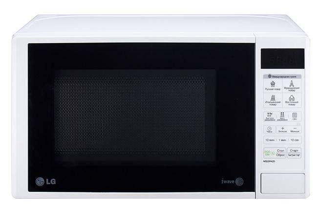 СВЧ-печь LG MS20R42D белый - фото 2
