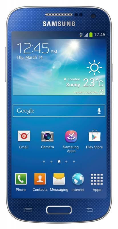 Смартфон Samsung Galaxy S4 mini GT-I9190 8ГБ синий - фото 1