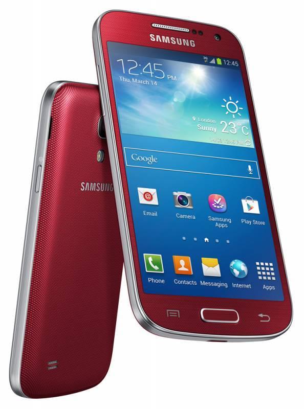 Смартфон Samsung Galaxy S4 mini GT-I9190 8ГБ красный - фото 4