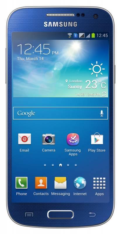 Смартфон Samsung Galaxy S4 mini Duos GT-I9192 8ГБ синий - фото 1