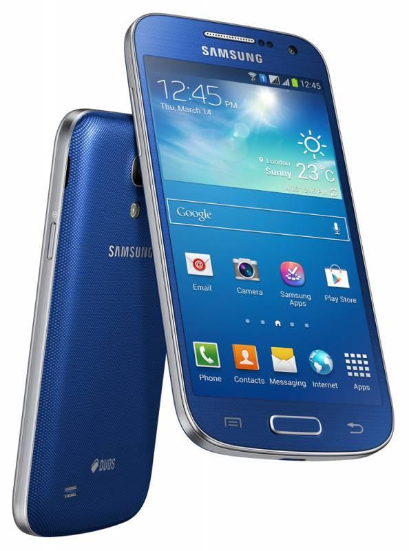 Смартфон Samsung Galaxy S4 mini Duos GT-I9192 8ГБ синий - фото 4