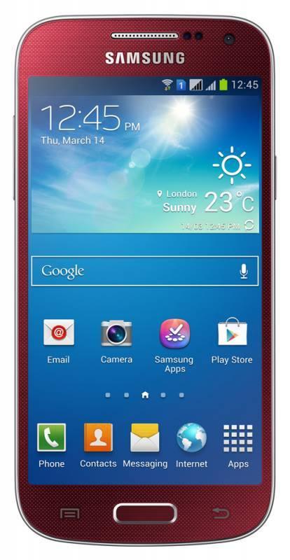 Смартфон Samsung Galaxy S4 mini Duos GT-I9192 8ГБ красный - фото 1