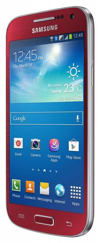 Смартфон Samsung Galaxy S4 mini Duos GT-I9192 8ГБ красный - фото 2