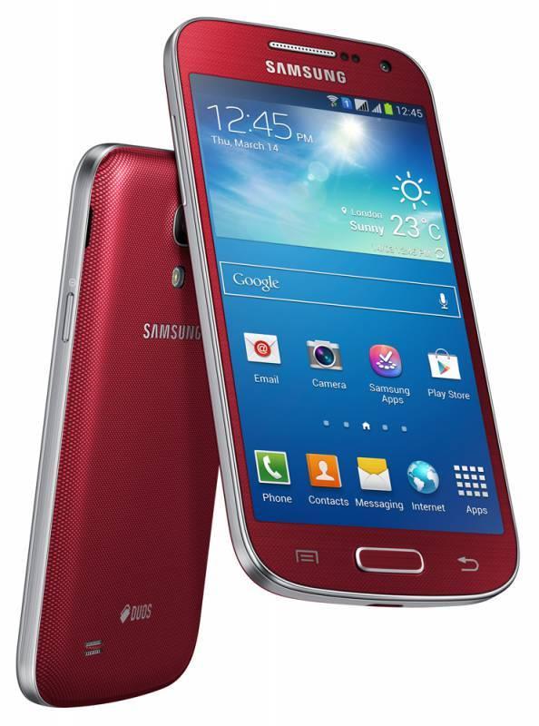 Смартфон Samsung Galaxy S4 mini Duos GT-I9192 8ГБ красный - фото 4