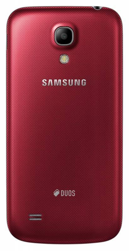 Смартфон Samsung Galaxy S4 mini Duos GT-I9192 8ГБ красный - фото 5