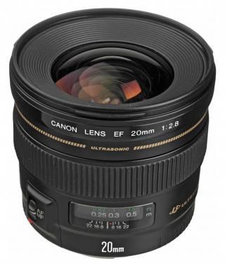 Объектив Canon EF USM 20mm f/2.8 (2509A010)