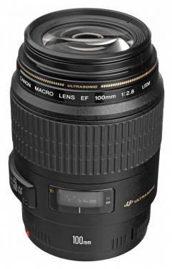 Объектив Canon EF USM 100mm f/2.8 (4657A011)